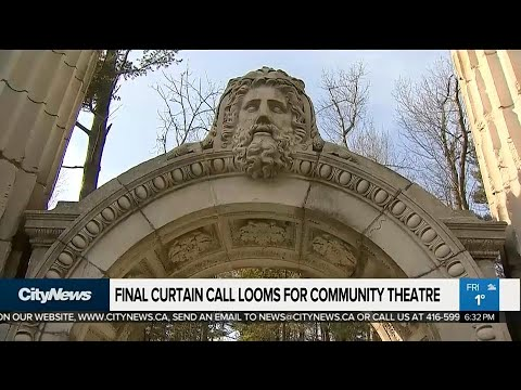 Community theatre in jeopardy after main sponsor pulls funding