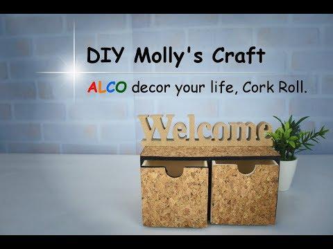 DIY Molly's Craft decor your life, Cork Roll