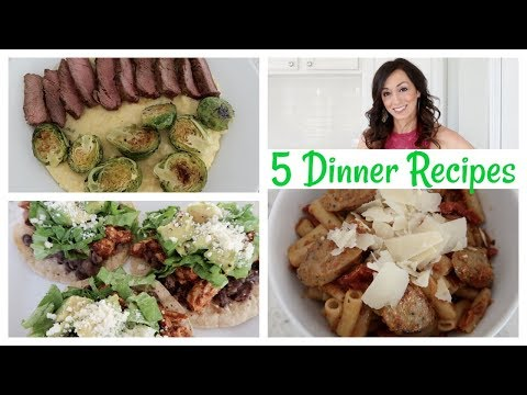 Cook with Me | 5 Dinner Ideas | Dinner Recipes