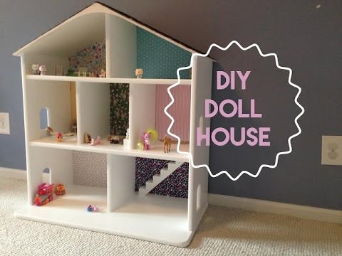 HOW TO BUILD A WOODEN DOLLHOUSE