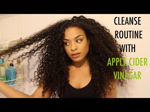Cleansing Curly Hair With Apple Cider Vinegar!?