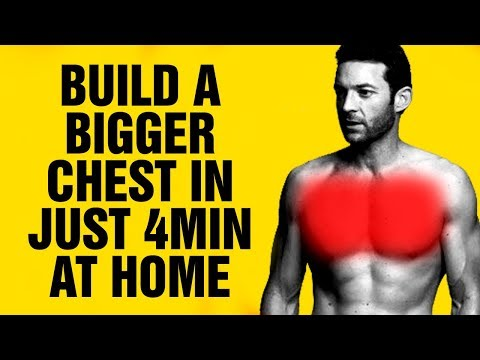 Build a Bigger Chest At Home With This 4min Push-Up Workout - Follow Along Video - Sixpack Factory