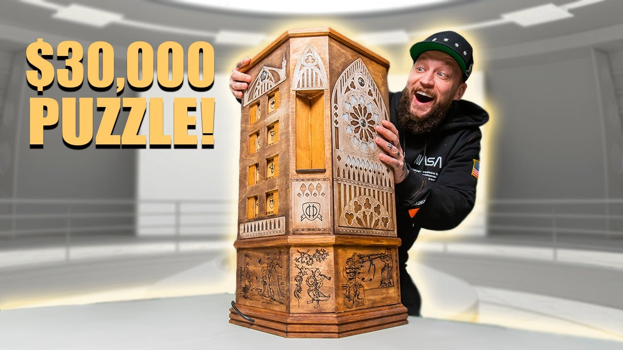 Solving a $30,000 Puzzle!! - BEST PUZZLE EVER!!