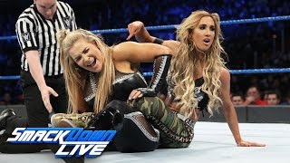 Natalya vs. Carmella: SmackDown LIVE, Dec. 13, 2016