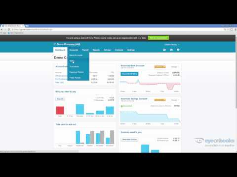How to customise Xero Dashboard and Placeholders for Repeating Invoices