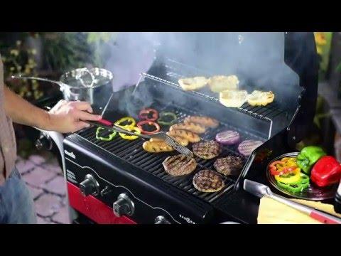Char-Broil Gas2Coal 3-Burner Grill