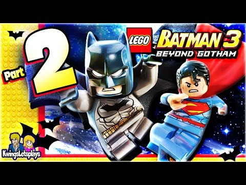 LEGO BATMAN 3 - Walkthrough Part 2 Breaking Bats!