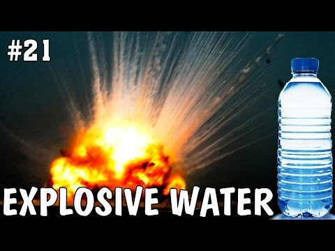 Explosive experiments with water