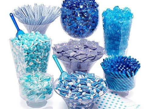 EFFORTLESS Blue Candy Buffet Kit