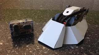 R/C Tanshe with working flipper