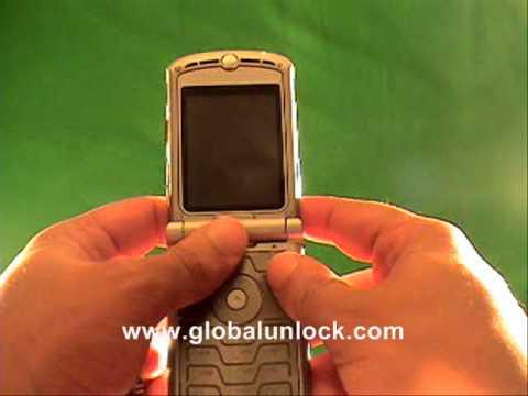 Easy Rogers Motorola V600 Unlock Method