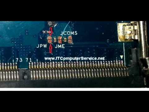 Toshiba Satellite P755 Bios Password Jumper Location