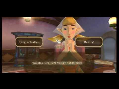How to Get Peatrice's Gratitude Crystals - The Legend of Zelda: Skyward Sword Walkthrough