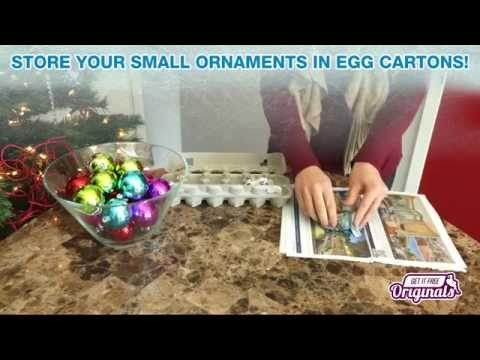 How To Safely Store Christmas Ornaments