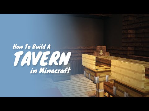 How To Build A Tavern Or Pub In Minecraft