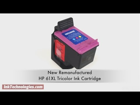 Remanufactured HP 61XL Tricolor Ink Cartridge Instructional Video