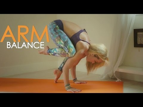 Yoga for Strength, Beginner Arm Balances with Kino