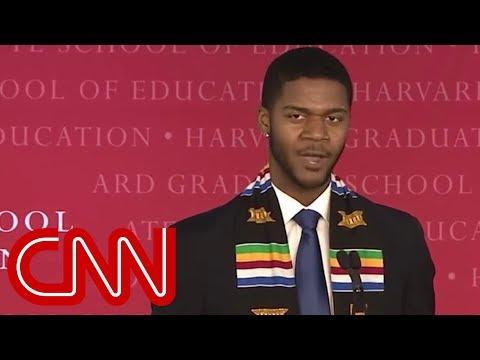 Harvard graduate's unique speech goes viral