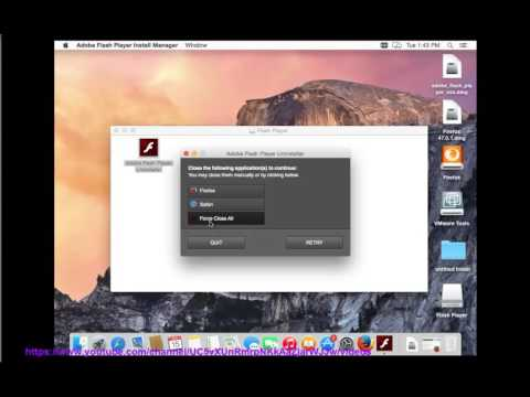 Uninstall Adobe Flash Player for Mac without using 3rd-party uninstaller?