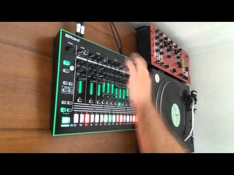 KiNK TR-8 / vinyl loop jam