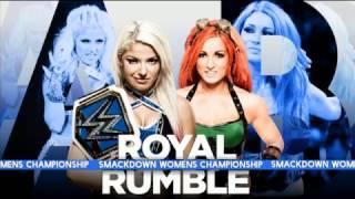 WWE Royal Rumble 2017 Match Card Predictions