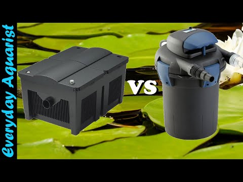 Pond Filters Pressurized Canister vs Gravity Box vs All in One Which Is Best?