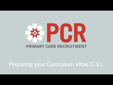 Preparing your Curriculum Vitae (C.V.) - Interview preparation for nurses 07