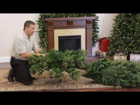 How to set up an artificial christmas tree - Bellacor.com