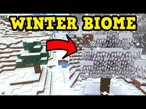 Minecraft Xbox / PE - Snow Biomes CHANGED SO MUCH