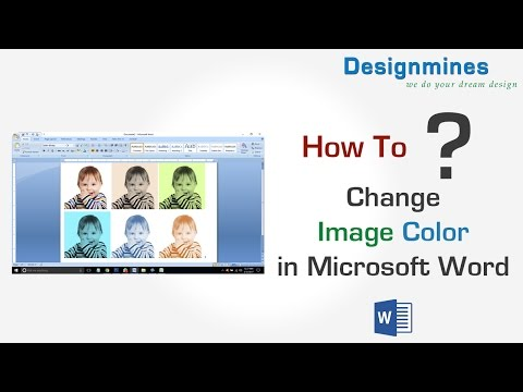 How to Change Image Colors in Word 2007
