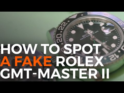 How to Spot a Fake Rolex GMT-Master II