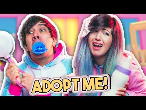 WHO'S MY REAL DAD!?   Adopt Me!   ROBLOX Roleplay #14
