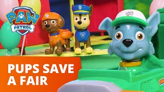 PAW Patrol Pups Save the Adventure Bay Fair! - Toy Episode - PAW Patrol Official & Friends