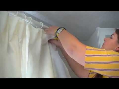 GLANSNÄVA Curtain Liners - IKEA Home Tour