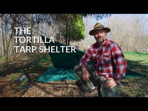 The SUPER EASY Tortilla Tarp Shelter