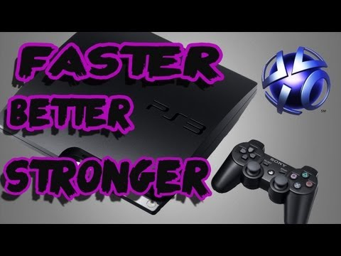How to Make your PS3 run faster and better *NO LAG*