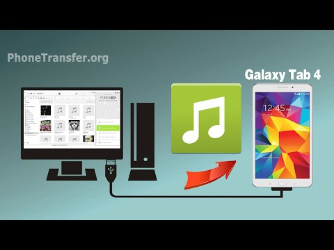 How to Copy Music from Computer to Samsung Galaxy Tab 4, Import Audio Files to Galaxy Tab 4