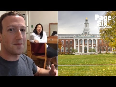Mark Zuckerberg visits the Harvard dorm room where he started Facebook | Page Six