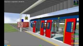 OpenBve Renfe 447 London Overground reskin  - Yootube Funny