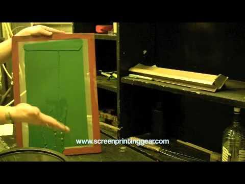 Screen Printing - Stencil Making