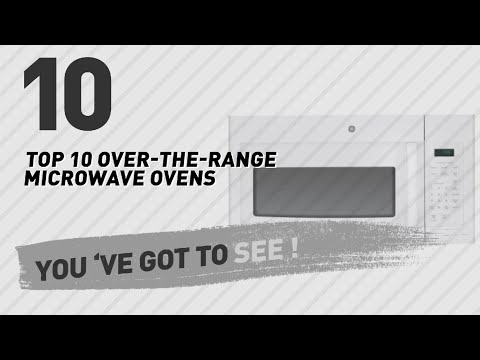 Top 10 Over-The-Range Microwave Ovens // New & Popular 2017