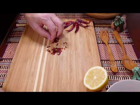How to clean your Hands after cutting Chili