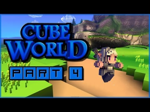 Let's Play Cube World Alpha - Part 4: Camping Trip