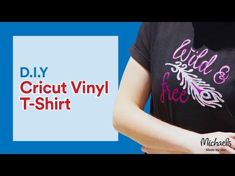 Vinyl T-Shirt with a Cricut | Michaels