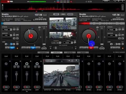 virtual dj : how to mix music or instrumental on virtual dj