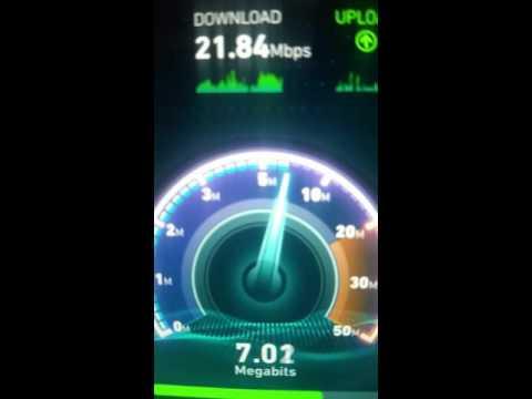 Sprint 4G LTE speed test
