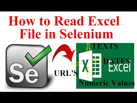 How to read excel file in Selenium Using Apache POI | Interview Question