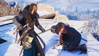 ВСЕ БИТВЫ С ВОИНАМИ РАГНАРА Assassin's Creed Valhalla - Викинги Рагнар Лодброк в Assassin's Creed