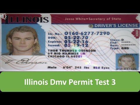 Illinois DMV Permit Test 3