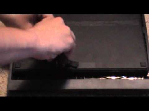 How To Remove/Replace A Hard Drive On A PS3 Slim